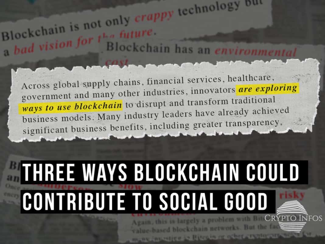 Blockchain Social Good